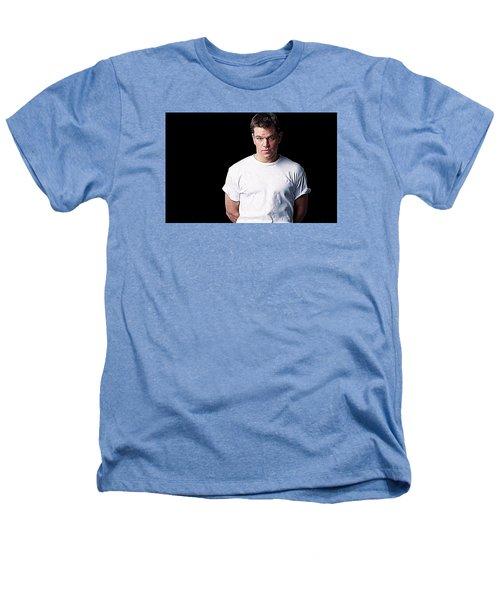 Matt Damon Heathers T-Shirt by Iguanna Espinosa