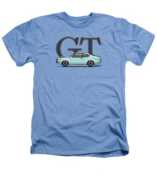 Mazda Savanna Gt Rx-3 Baby Blue Heathers T-Shirt by Monkey Crisis On Mars