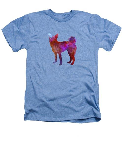 Medium Griffon Vendeen In Watercolor Heathers T-Shirt by Pablo Romero