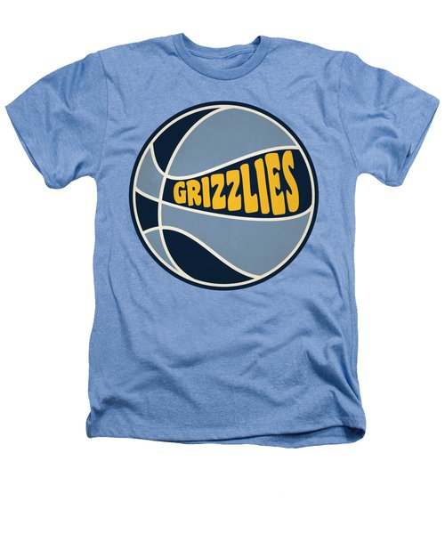 Memphis Grizzlies Retro Shirt Heathers T-Shirt by Joe Hamilton