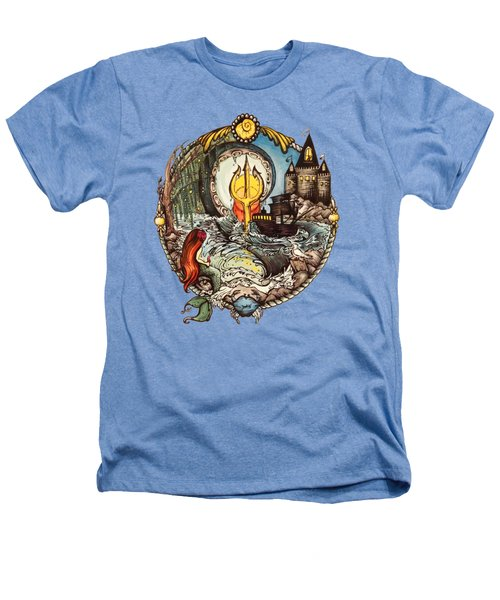 Mermaid Part Of Your World Heathers T-Shirt by Cat Dolch