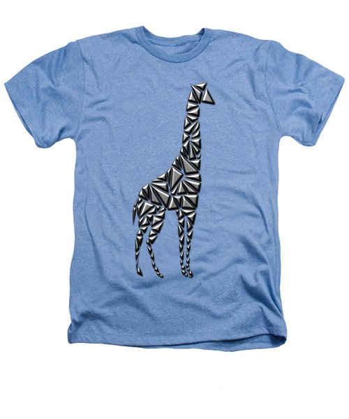 Metallic Giraffe Heathers T-Shirt by Chris Butler