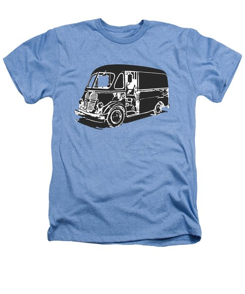 Metro Step Van Tee Heathers T-Shirt by Edward Fielding