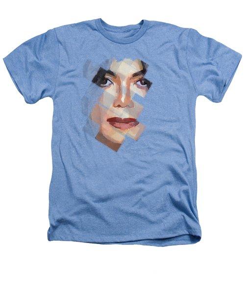 Michael Jackson T Shirt Edition  Heathers T-Shirt by Yury Malkov
