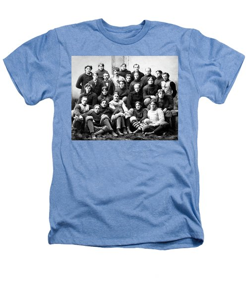 Michigan Wolverines Football Heritage  1895 Heathers T-Shirt by Daniel Hagerman
