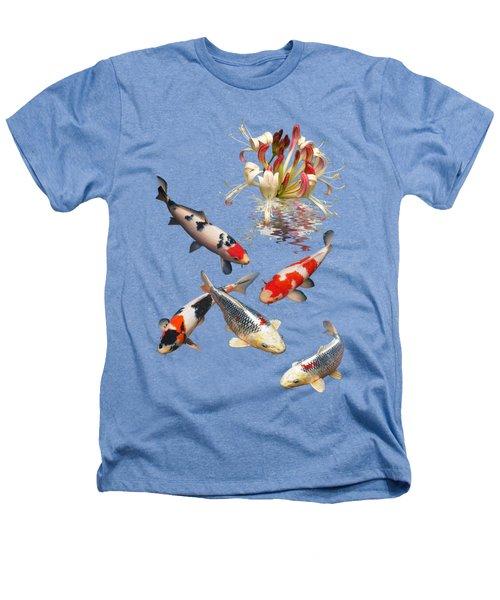 Midnight Reflections Heathers T-Shirt by Gill Billington