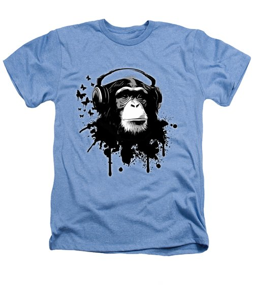 Monkey Business Heathers T-Shirt by Nicklas Gustafsson