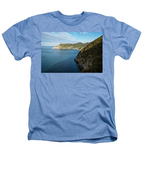 Monterosso And The Cinque Terre Coast Heathers T-Shirt