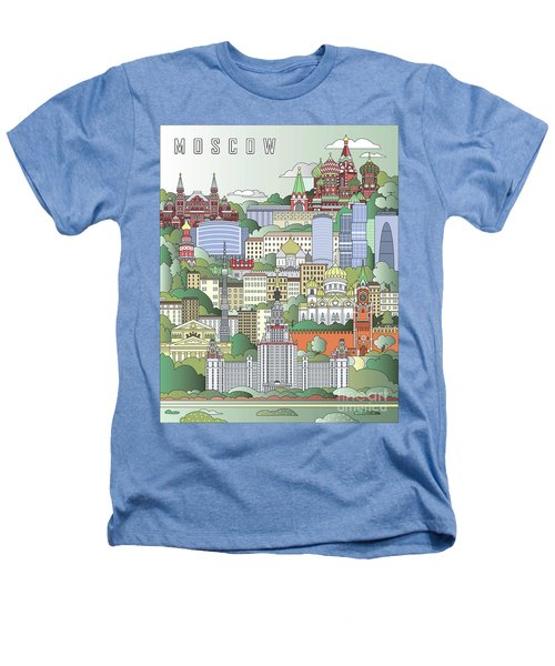 Moscow City Poster Heathers T-Shirt by Pablo Romero