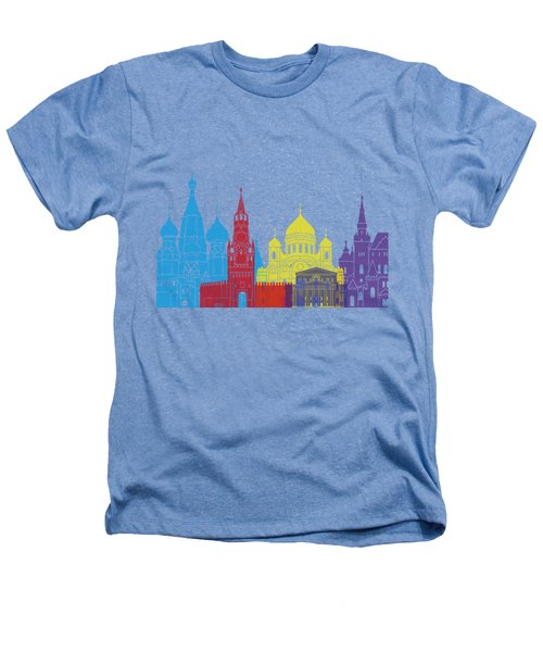 Moscow Skyline Pop Heathers T-Shirt