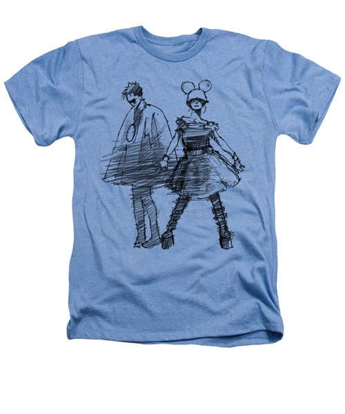 Mouse And Morse Heathers T-Shirt by H James Hoff