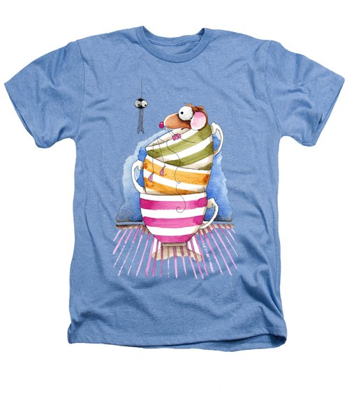 My Cup Of Tea Heathers T-Shirt by Lucia Stewart