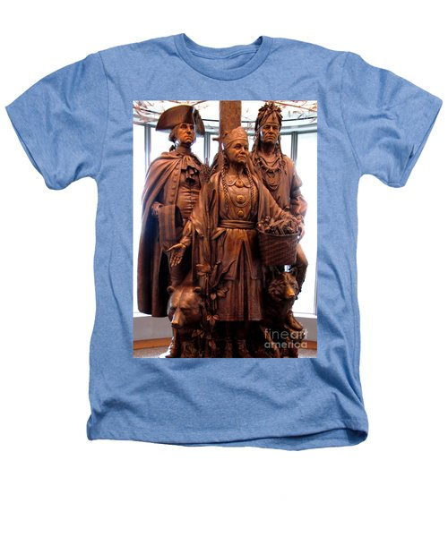 National Museum Of The American Indian 8 Heathers T-Shirt by Randall Weidner