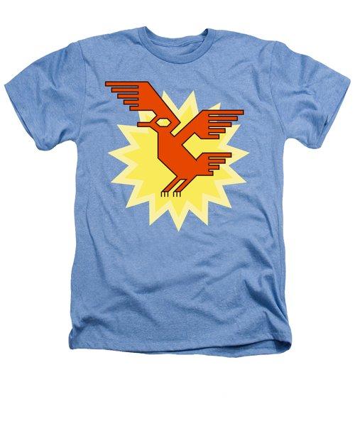 Native South American Condor Bird Heathers T-Shirt