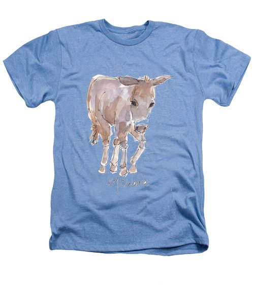 New Pasture Boss Heathers T-Shirt by Kathleen McElwaine