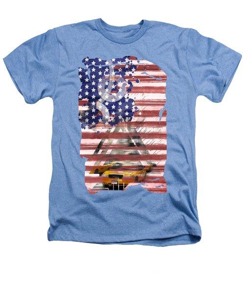 New York City Geometric Mix No. 8 Heathers T-Shirt by Melanie Viola