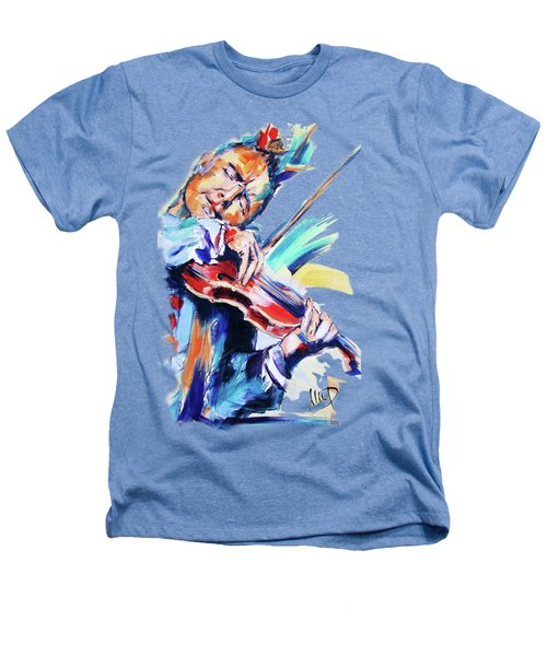 Nigel Kennedy Heathers T-Shirt by Melanie D
