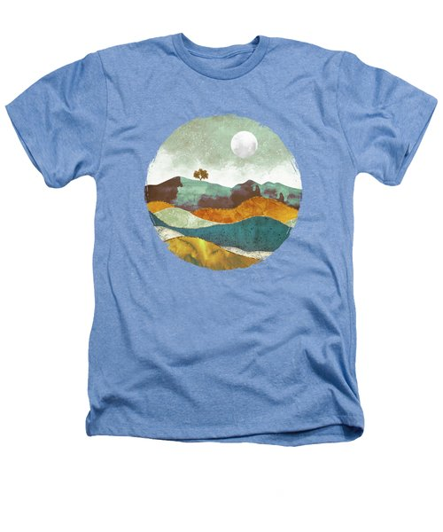 Night Fog Heathers T-Shirt by Spacefrog Designs