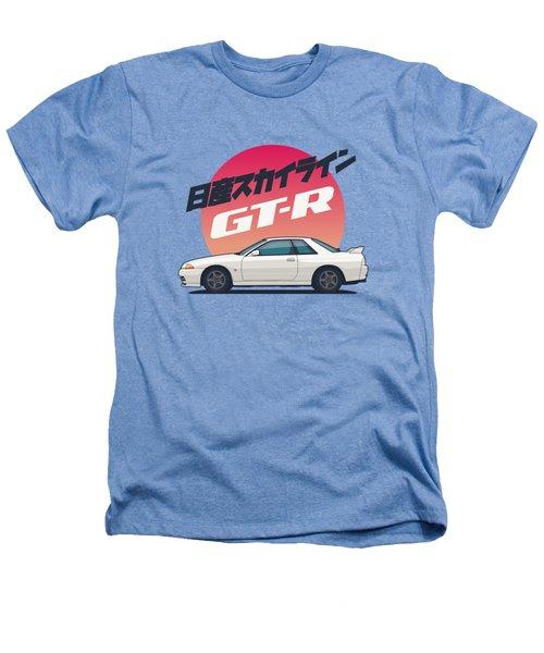 Nissan Skyline R32 Gt-r - Vert White Heathers T-Shirt