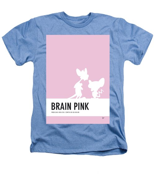 No01 My Minimal Color Code Poster Pinky And The Brain Heathers T-Shirt