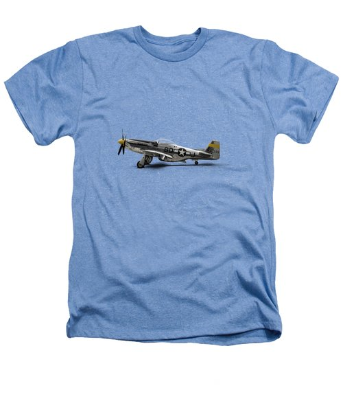 North American P-51 Mustang Heathers T-Shirt