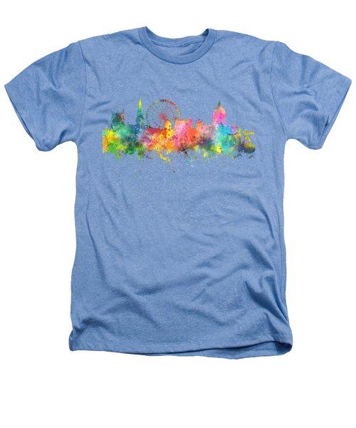 Nottingham  England Skyline Heathers T-Shirt