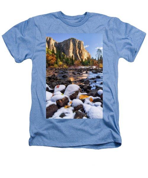 November Morning Heathers T-Shirt by Anthony Michael Bonafede