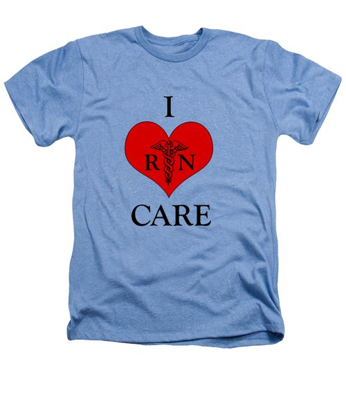Nursing I Care -  Red Heathers T-Shirt
