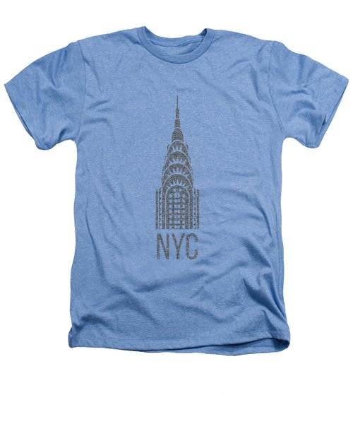 Nyc New York City Graphic Heathers T-Shirt by Edward Fielding