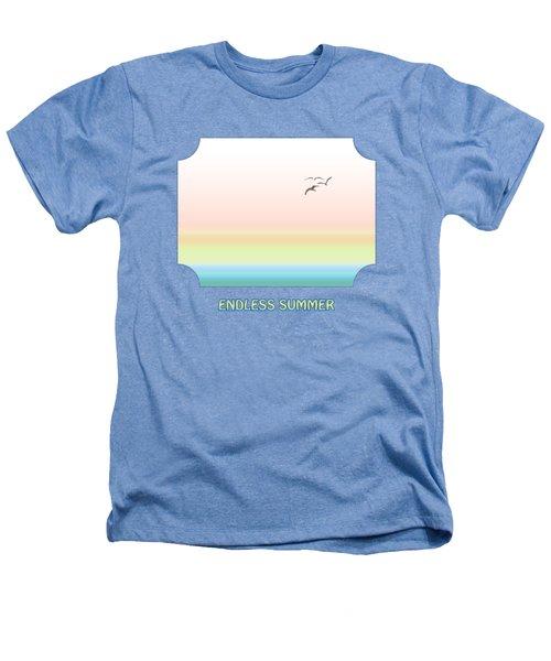 Endless Summer Heathers T-Shirt by Gill Billington