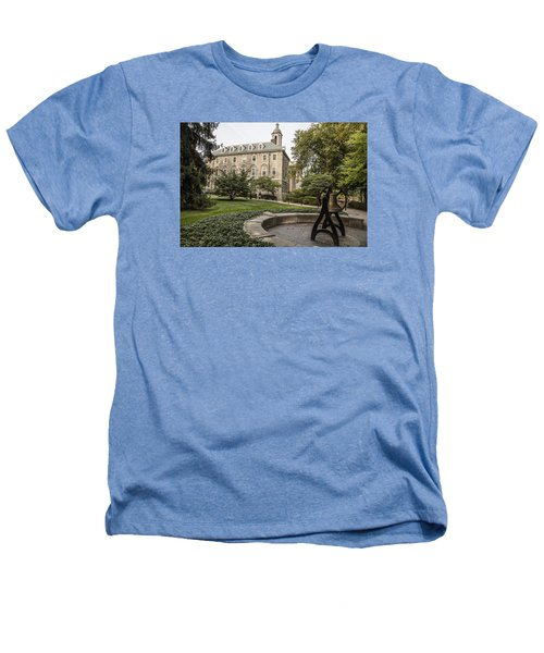 Old Main Penn State Bell  Heathers T-Shirt by John McGraw