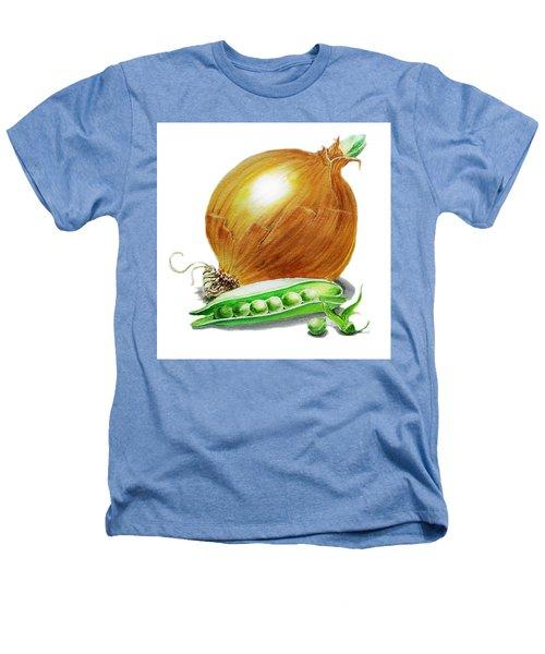 Onion And Peas Heathers T-Shirt by Irina Sztukowski