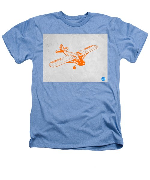 Orange Plane 2 Heathers T-Shirt