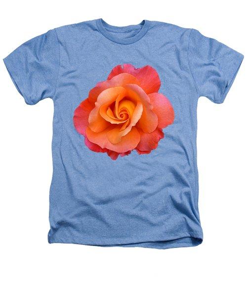 Orange Rosebud Highlight Heathers T-Shirt