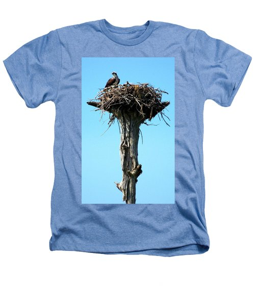 Osprey Point Heathers T-Shirt by Karen Wiles