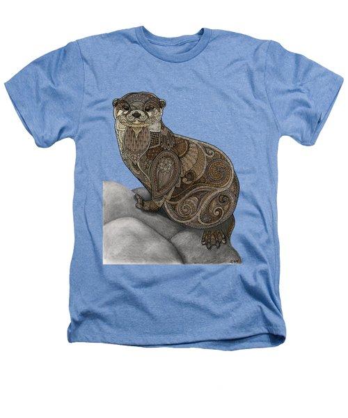 Otter Tangle Heathers T-Shirt by ZH Field
