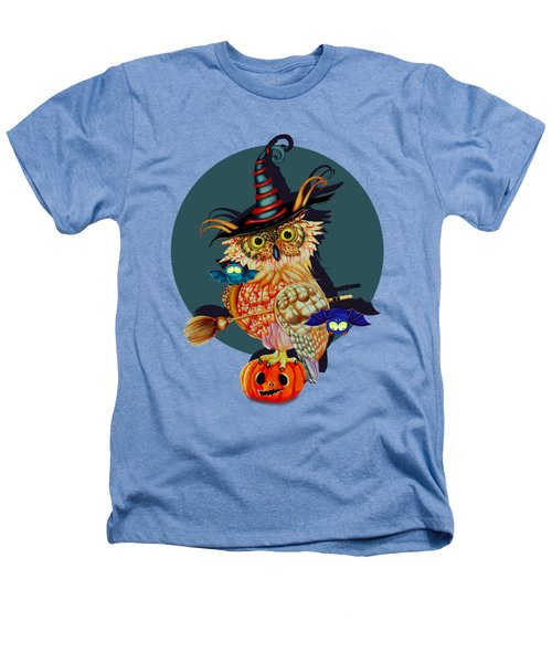 Owl Scary Heathers T-Shirt by Isabel Salvador