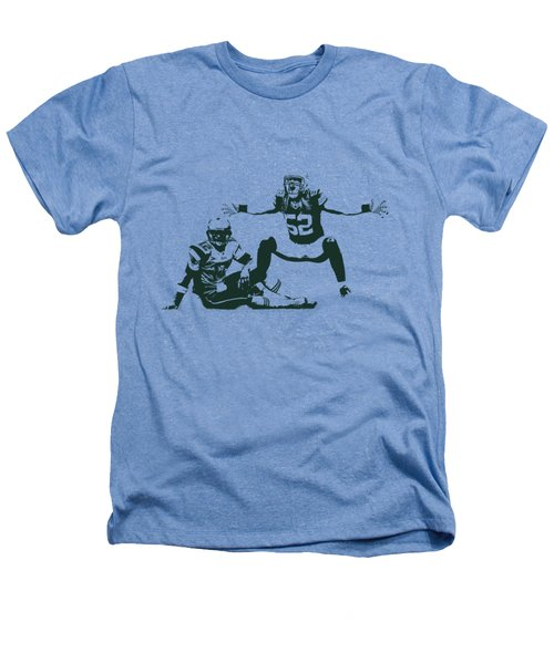 Packers Clay Matthews Sack Heathers T-Shirt