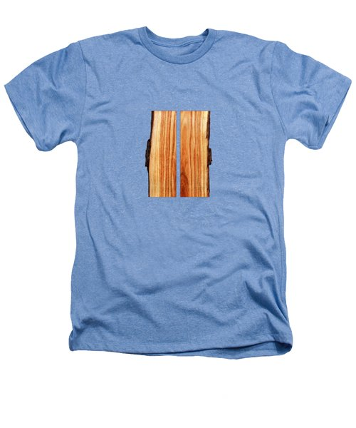 Parallel Wood Heathers T-Shirt by YoPedro