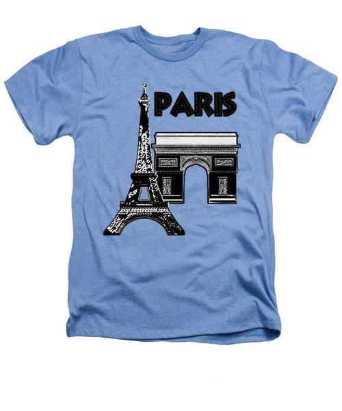 Paris Graphique Heathers T-Shirt by Pharris Art