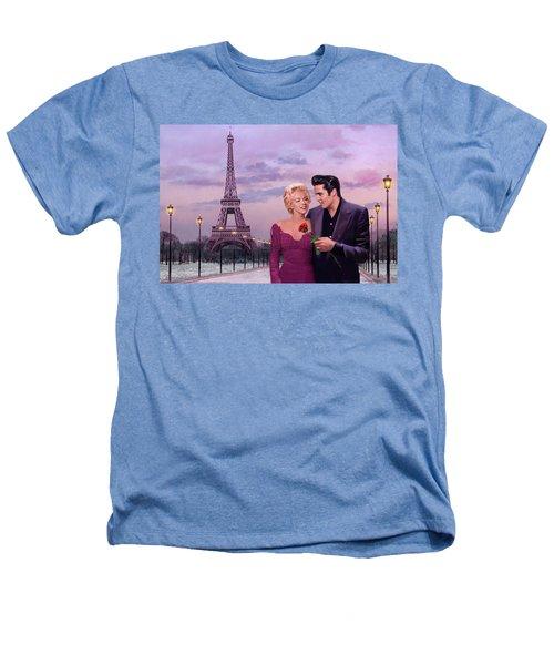Paris Sunset Heathers T-Shirt by Chris Consani