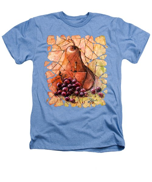 Pear And Grapes Fresco Heathers T-Shirt