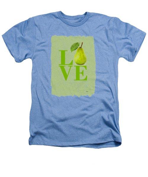 Pear Heathers T-Shirt by Mark Rogan