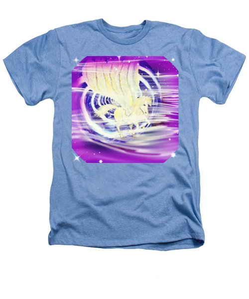 Pegasus Purple Sparkle Heathers T-Shirt