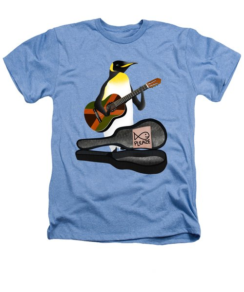 Penguin Busker Heathers T-Shirt by Early Kirky