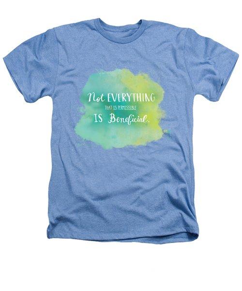 Permissible Heathers T-Shirt by Nancy Ingersoll