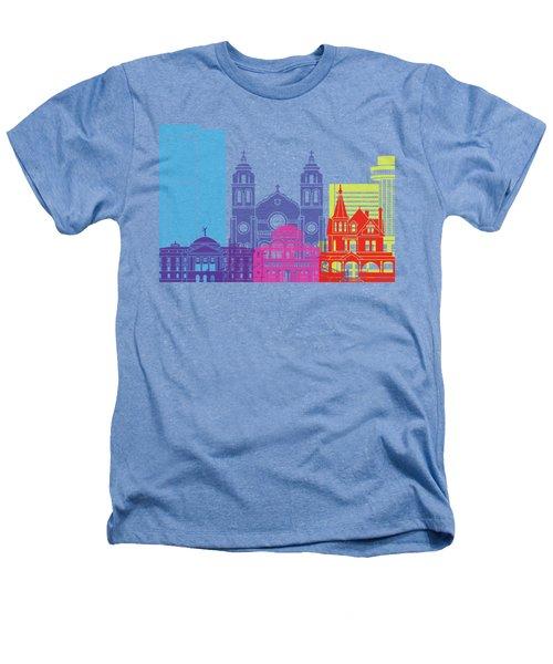Phoenix Skyline Pop Heathers T-Shirt by Pablo Romero