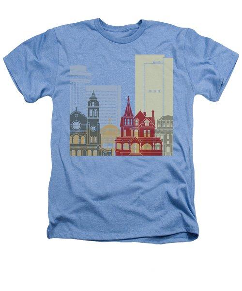 Phoenix Skyline Poster Heathers T-Shirt