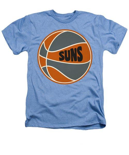 Phoenix Suns Retro Shirt Heathers T-Shirt by Joe Hamilton