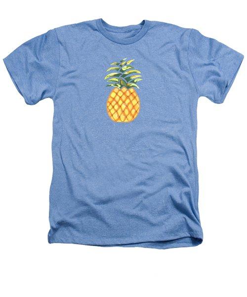 Pineapple Heathers T-Shirt by Kathleen Sartoris